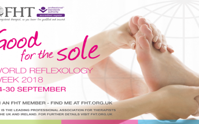 World Reflexology Week… It's Good for the Sole!