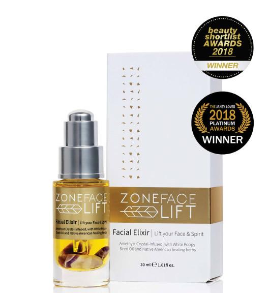 Zone Face Lift, facial elixir.